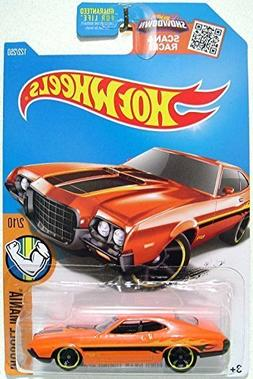 Hot Wheels, 2016 Muscle Mania, '72 Ford Gran Torino Sport  #