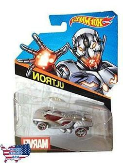 Hot Wheels, Marvel Character Car, Ultron #15, 1:64 Scale