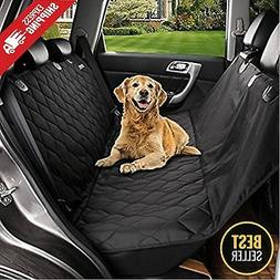 Luxury Pet Car SUV Van Back Rear Bench Seat Cover Waterproof
