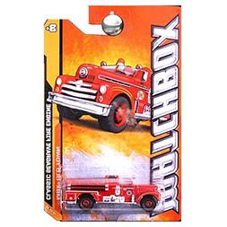 Matchbox 2012 MBX Old Town Classic Seagrave Fire Engine Truc