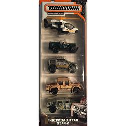 Matchbox On A Mission - Jungle Recon-5 Pack