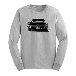 Mens Vitage GTO Old Muscle Car Long Sleeve T-Shirts Casual M