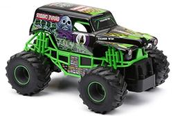 New Bright 2430 Monster Jam Grave Digger RC Truck, 1:24  Sca