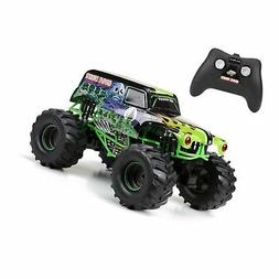 New Bright 61030G 9.6V Monster Jam Grave Digger RC Car, 1:10