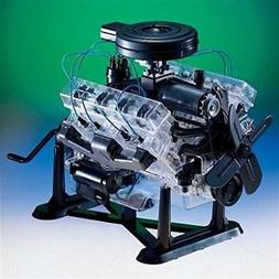 Revell 85-8883 1/4 Visible V-8 Engine Plastic Model Kit, 12-
