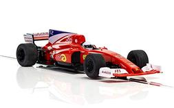 Scalextric Grand Prix F1 1:32nd Scale Slot Race Car, Red