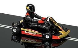 Scalextric Super Kart 1 Black #8 1:32nd Scale Slot Car