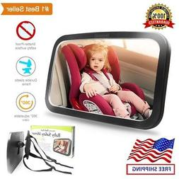 Shynerk Baby Car Mirror, Safety Car Seat Mirror for Rear Fac