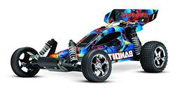 Traxxas 240544 Bandit: 1/10 Scale 2WD Off-Road Buggy with TQ