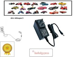 AC Adapter For Disney Mickey Roadster Racer 6V Battery-Power