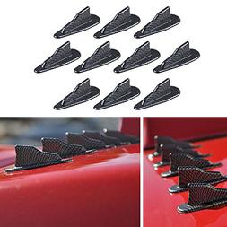 Alpha racing Air Vortex Generator Diffuser Shark Fin 10pcs S