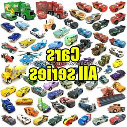 All Mattel Disney Pixar Model Cars McQueen 1:55 Diecast Lot