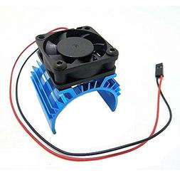 Hobbypower Alloy Heatsink w/ 5v Cooling Fan for 1/10 Car 540