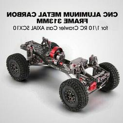 Aluminium Alloy 1:10 4WD Body Chassis Frame Kit for Axial SC