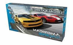 Scalextric American Racers 1:32 Slot Car Race Track C1364T P
