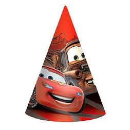 AmscanDisney Cars Formula Racer Birthday Party Paper Cone Ha