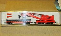 AMTRAK MOW CRANE WITH WORK CAR BY ROCO FOR MODEL POWER ITEM