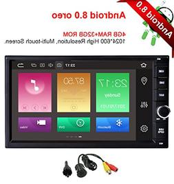 MCWAUTO Android 8.0 standard universal Double 2 Din 4G+32G I
