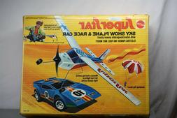 MATTEL ARCHIVES SUPER RARE 1973 SUPERSTAR SKY SHOW PLANE AND