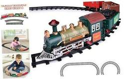 ArtCreativity Deluxe Train Set for Kids - Battery-Operated T