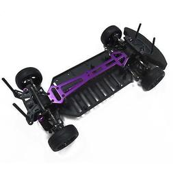 Assembled On-Road 4WD Drift Racing Chassis Frame Kit for 1/1