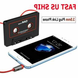 Audio AUX Car Cassette Tape Adapter Converter 3.5MM For iPho