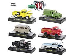 Auto Trucks 6 Piece Set Release 38 IN DISPLAY CASES 1/64 by