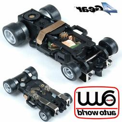 Auto world 4Gear Replacement HO Slot Car Complete Chassis Au