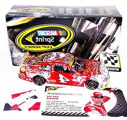 AUTOGRAPHED 2015 Kevin Harvick #4 Budweiser Racing DOVER WIN