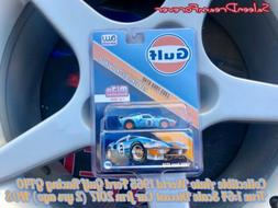 AW AUTO WORLD 1965 GULF RACING FORD GT40 1:64 SCALE DIECAST
