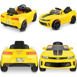 Battery Powered Car For Kids Ride On Toy 6V Electric Camaro