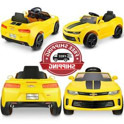 Battery Powered Car For Kids Ride On Toy Electric Chevy Cama