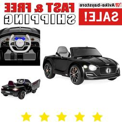 Bentley Ride-On Car with Remote Control 2 Speeds 12V for Kid