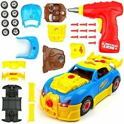 Big Mo's Toys 661-184 Build Your Own Race Car STEM Racing Fo