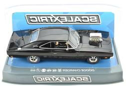 Scalextric Black Dodge Charger W/ Blower DPR W/ Lights 1/32