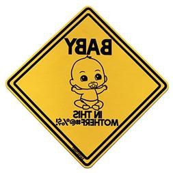 Baby On Board Sticker | Funny! Highly Visible Safety Sticker