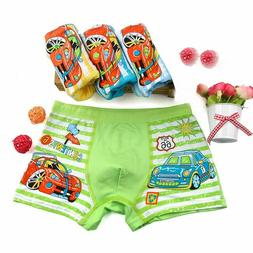 Boys Underwear Soft Breathable Kids Boxer For 2-10Yrs Baby P