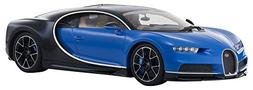 Bugatti Chiron Blue and Dark Blue Metallic 1/18 Diecast Mode