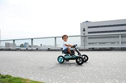 Toys Kids Buzzy Racing Teal Pedal Go-Kart Children Ride-On C