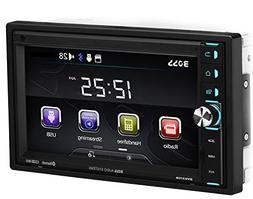 BOSS Audio BV9370B Car Stereo DVD Player – Double Din, Blu