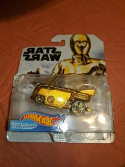 C-3PO * New!  2019 Hot Wheels Character Cars Case G STAR WAR