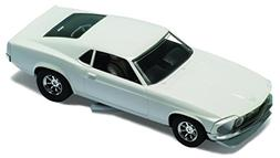 Scalextric C3579 1970 For Mustang White Undecorated Slot Car