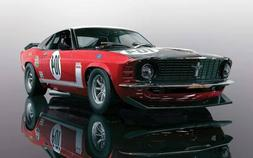 Scalextric C3926 Ford Mustang Boss 302 British Saloon Car Ch