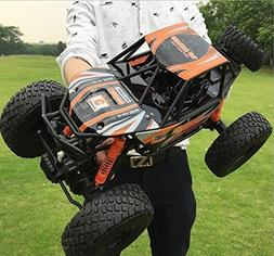 18.8' Large Size RC Car 4WD Rock Crawlers 1:10 Scale Rock Cl