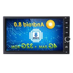 Android 8.0 Car Stereo Double Din Android Auto Octa Core 32G