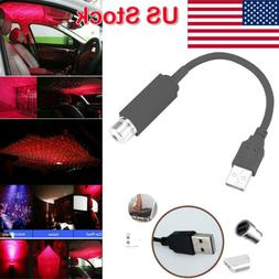 Car Roof Lights Romantic USB Night Atmosphere Party Lamp &US