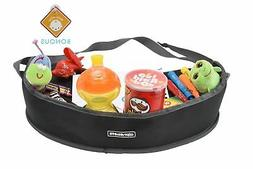 Alphabetz Car Seat Kids Activity Travel Tray, Black New
