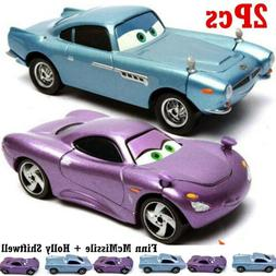 Car Set 1:55 Pixar Cars 2 Finn McMissile And Holly Shiftwell