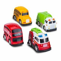 Car Toys-Pull Back Cars and Die-cast Vehicles for Toddlers &