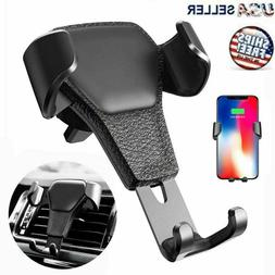 Car Mount Air Vent Phone Holder Cradle for iPhone X XR XS Ma